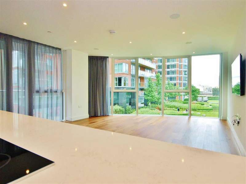 3 Bedrooms Apartment Flat for sale in The Pinnacle, Battersea Reach, London