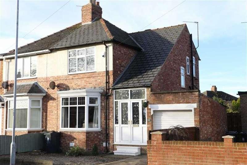 2 Bedrooms Semi Detached House for sale in Brinkburn Avenue, Darlington