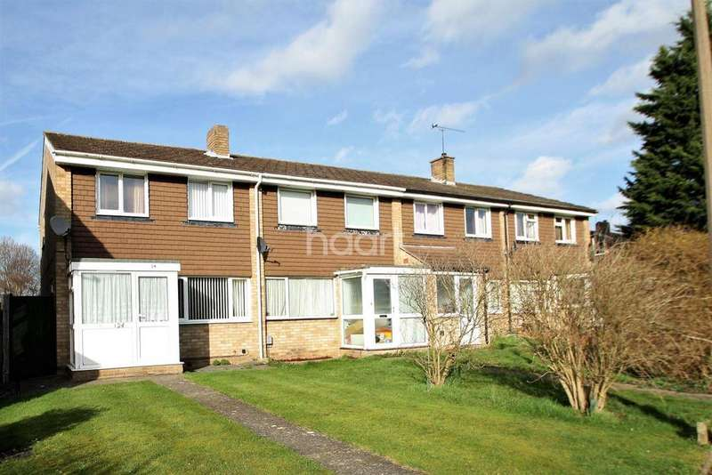 3 Bedrooms End Of Terrace House for sale in Ranworth Walk, Bedford