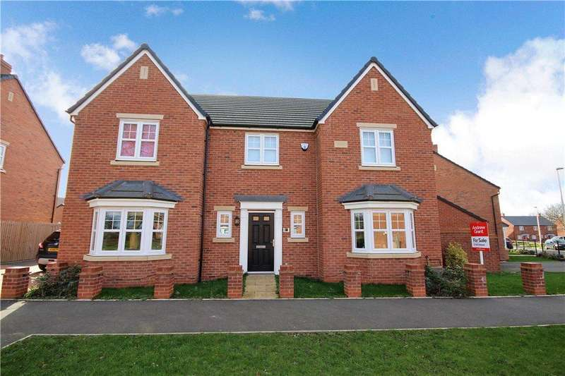 4 Bedrooms Detached House for sale in Gundulf Road, Meon Vale, Stratford-upon-Avon, CV37
