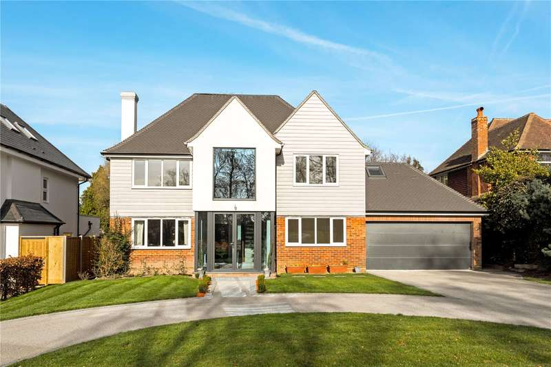 6 Bedrooms Detached House for sale in Cricket Way, Weybridge, Surrey, KT13