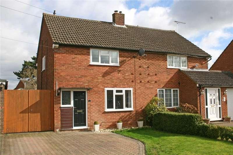3 Bedrooms Semi Detached House for sale in Elm Avenue, Caddington, Luton, Bedfordshire