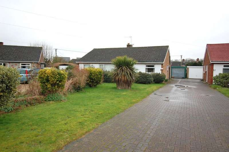 2 Bedrooms Semi Detached Bungalow for sale in Swan Close, Aylsham