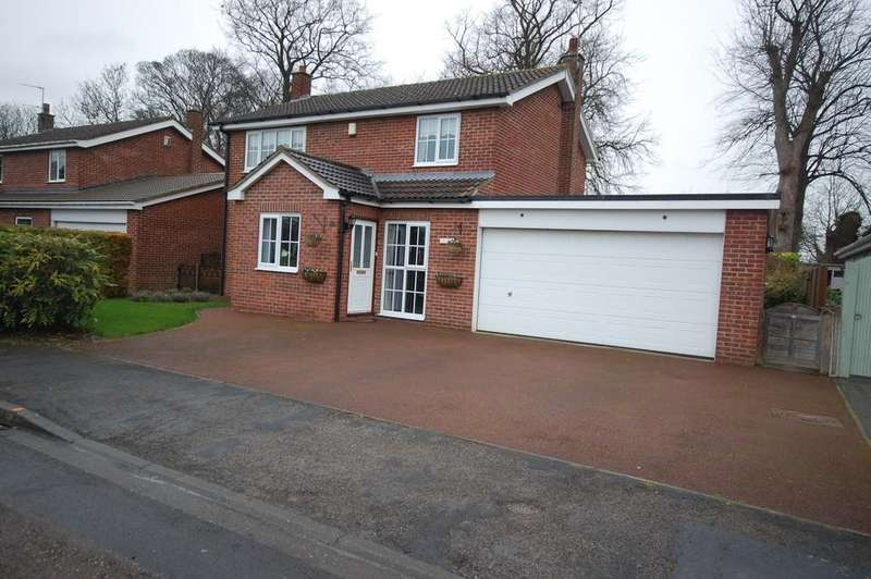 4 Bedrooms Detached House for sale in Woodland Way, Airmyn