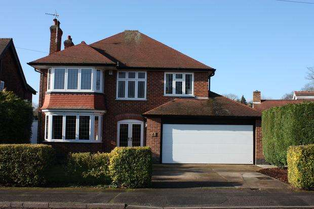 4 Bedrooms Detached House for sale in Cambridge Road, Wollaton, Nottingham, NG8