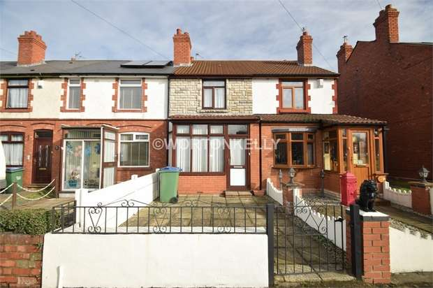 2 Bedrooms Terraced House for sale in Greets Green Road, WEST BROMWICH, West Midlands