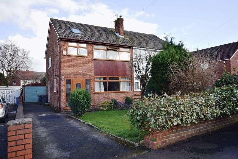4 Bedrooms Semi Detached House for sale in Malton Close, Cronton