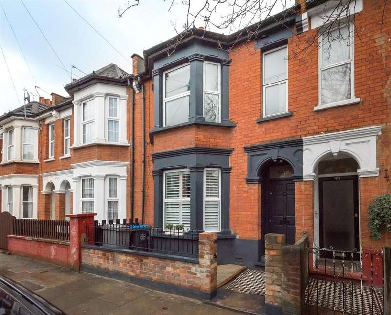 3 Bedrooms Terraced House for sale in Cobbold Road, London, NW10