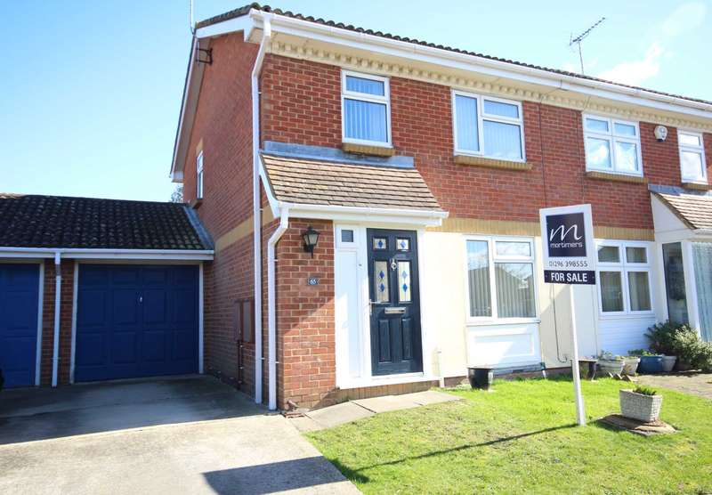 3 Bedrooms Semi Detached House for sale in Savernake Road, Aylesbury