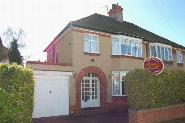 3 Bedrooms Semi Detached House for sale in Rushmere Avenue, Abington, Northampton NN1 5SD
