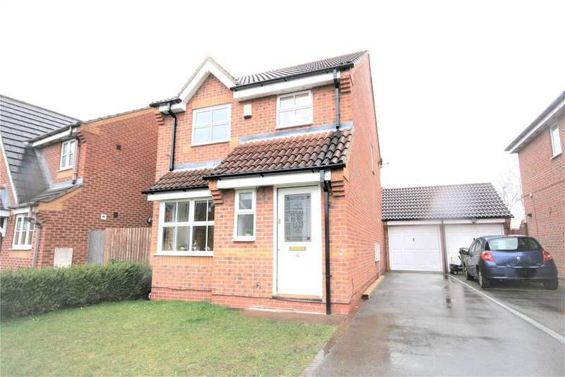 3 Bedrooms Detached House for sale in Snowdrop Close, Healing, DN41