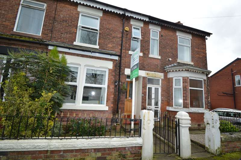 3 Bedrooms Terraced House for sale in Heaton Street, Prestwich, Manchester, M25