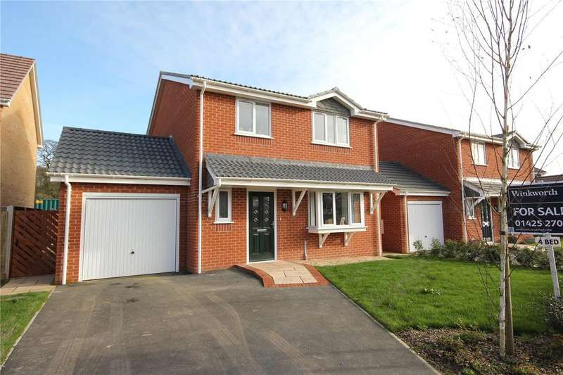 4 Bedrooms Detached House for sale in Cornflower Drive, Hoburne Farm, Highcliffe-On-Sea, Dorset, BH23