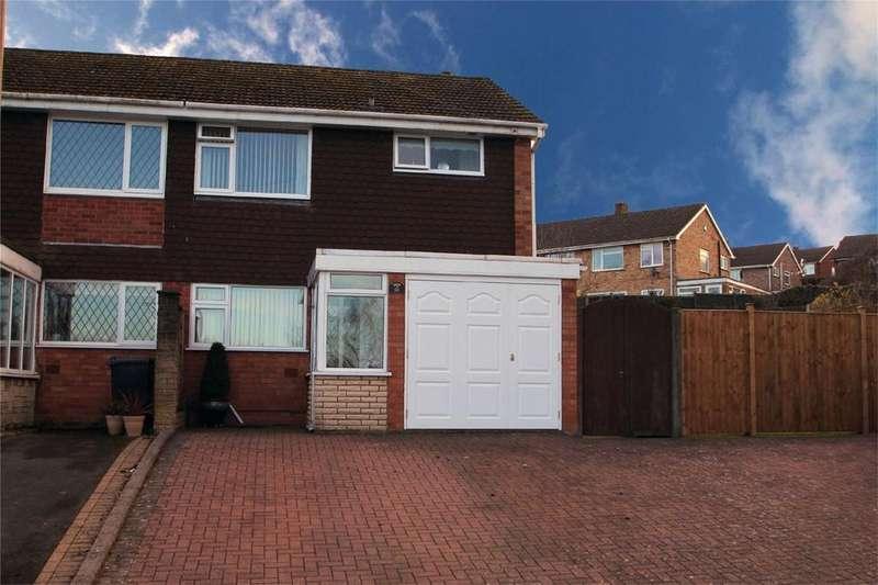 3 Bedrooms Semi Detached House for sale in Helston Close, Wordsley, STOURBRIDGE