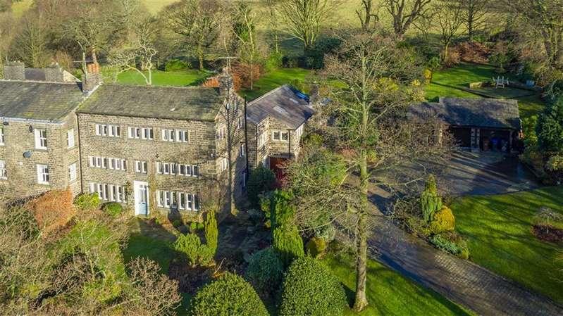 4 Bedrooms Property for sale in Shepherds Green, Hollin Lane, SADDLEWORTH, OL3