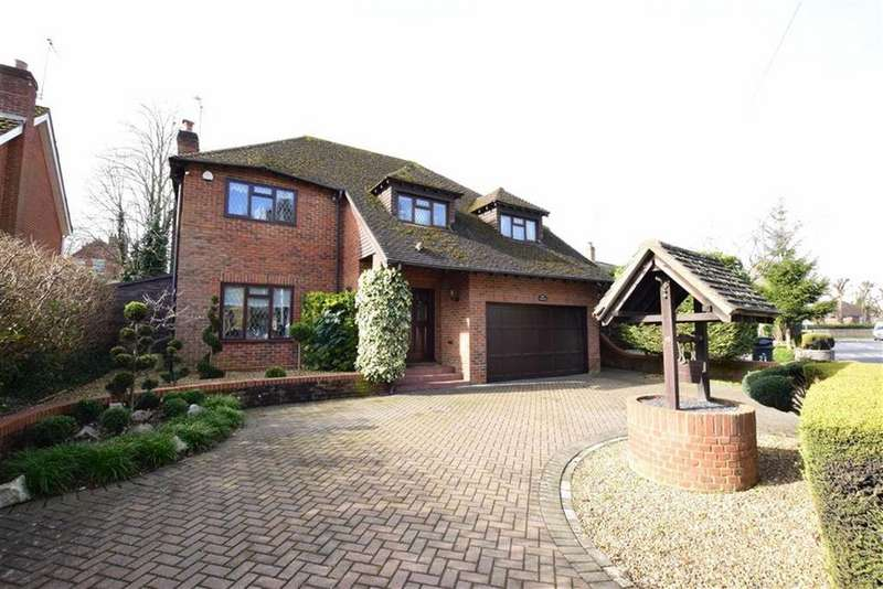 4 Bedrooms Detached House for sale in Woodcote Road, Caversham Heights, Reading