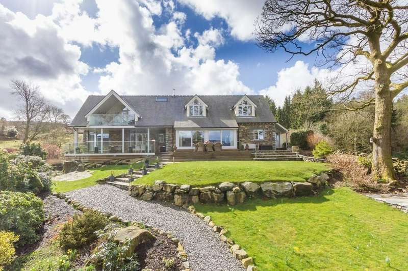5 Bedrooms Detached House for sale in Barn End, Canny Hill, Newby Bridge, Lake District, LA12 8NU