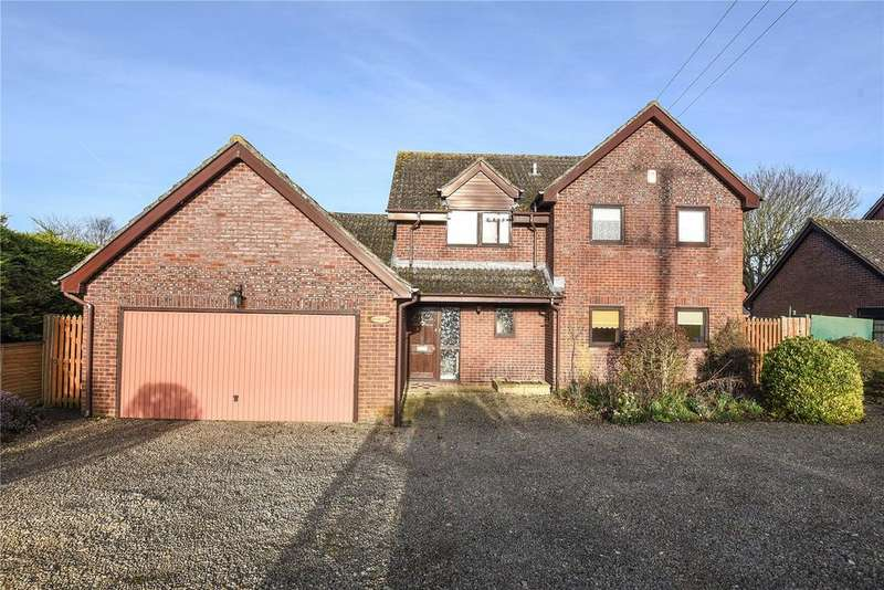 4 Bedrooms Detached House for sale in Marlborough Road, Ogbourne St George, Marlborough, Wiltshire