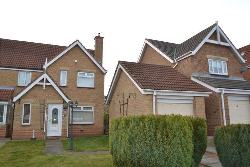 2 Bedrooms Semi Detached House for sale in O'Neil Drive, Peterlee, Co.Durham, SR8