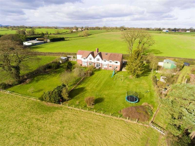 5 Bedrooms Semi Detached House for sale in Nox Bank, Cruckton, Shrewsbury, Shropshire