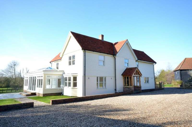5 Bedrooms Detached House for sale in Yardley Hall, Walden Road, Thaxted, Dunmow, Essex, CM6 2RQ