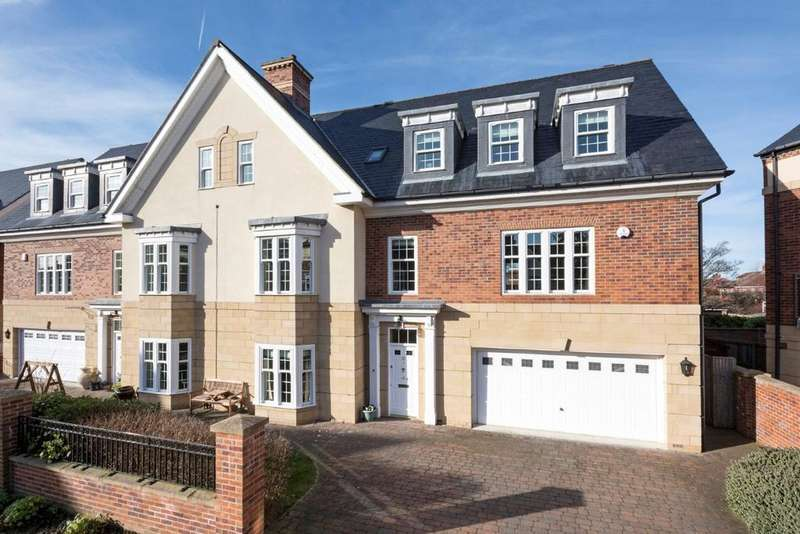 6 Bedrooms Semi Detached House for sale in 12 Grove Park Square, Gosforth, Newcastle upon Tyne NE3