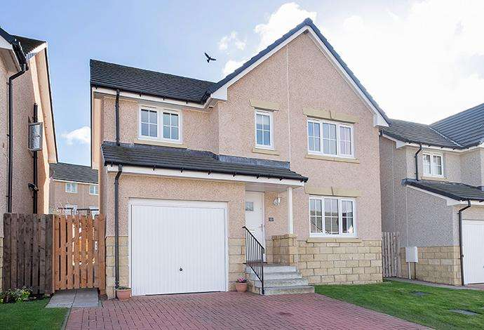 4 Bedrooms Detached House for sale in 13 Lairburn Drive, Clovenfords, TD1 3AJ