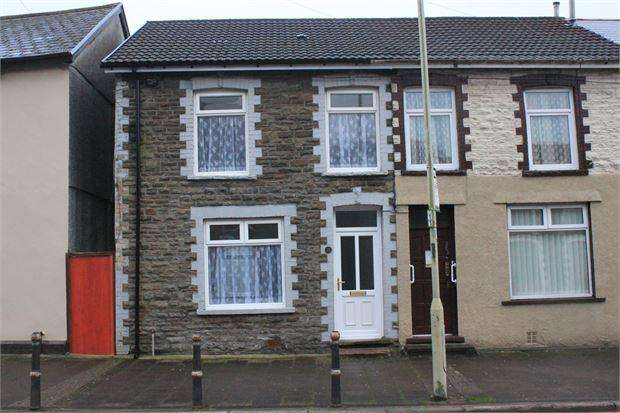 3 Bedrooms Terraced House for sale in Brithweunydd, Trealaw, Tonypandy, Rhondda Cynon Taff. CF40 2PB
