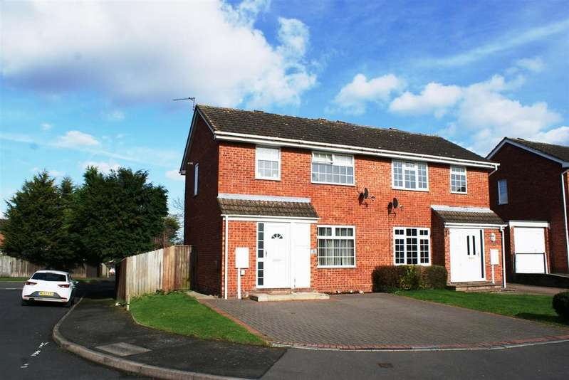 2 Bedrooms Semi Detached House for sale in Overberry Orchard, Leamington Spa
