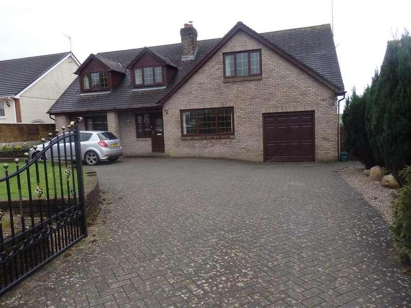4 Bedrooms Detached House for sale in Meinciau Road, Mynyddygarreg, Kidwelly