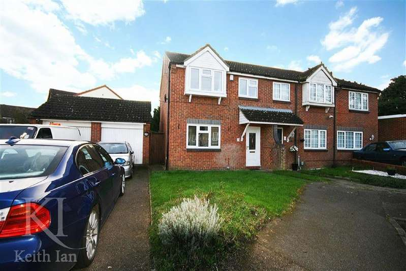 3 Bedrooms End Of Terrace House for sale in Kingsmead, Cheshunt
