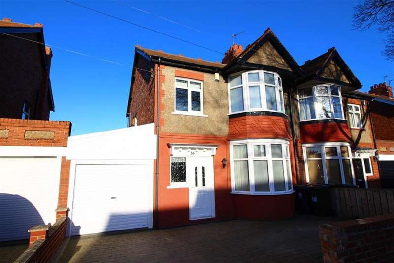 3 Bedrooms Semi Detached House for sale in Seatonville Road, Monkseaton
