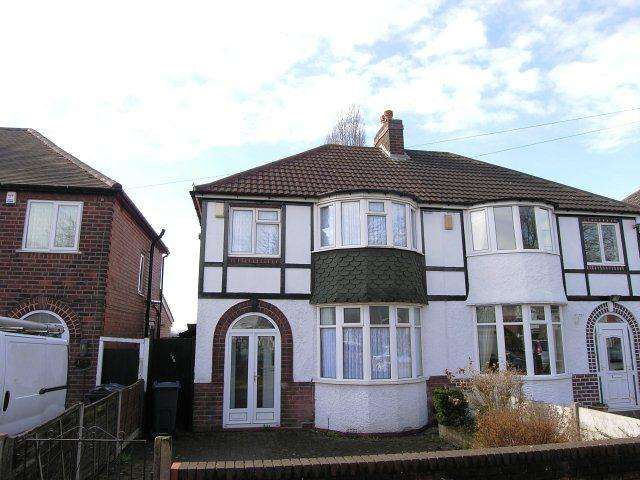 3 Bedrooms Semi Detached House for sale in Hawthorn Road,Kingstanding,Birmingham