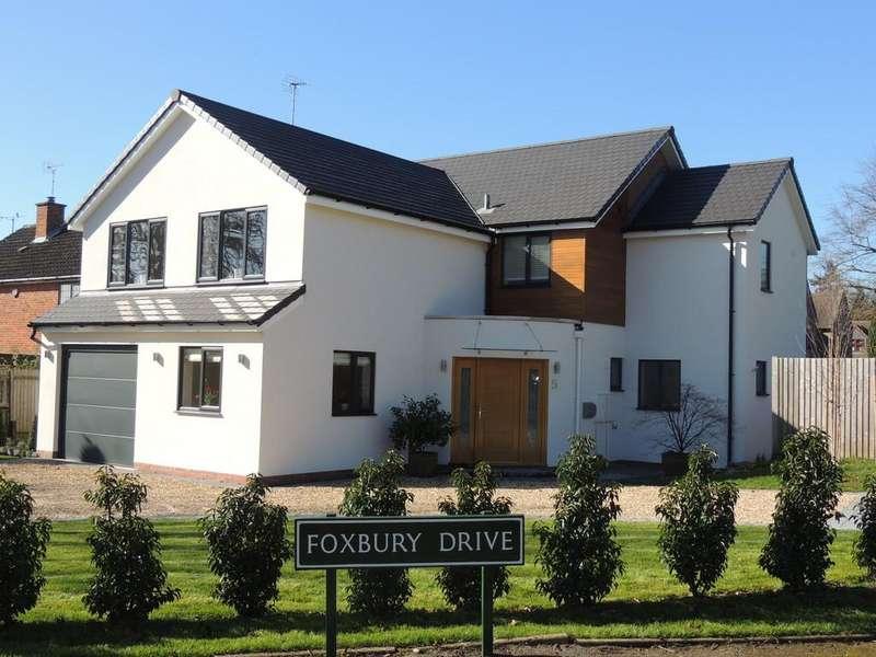 4 Bedrooms Detached House for sale in Foxbury Drive, Dorridge