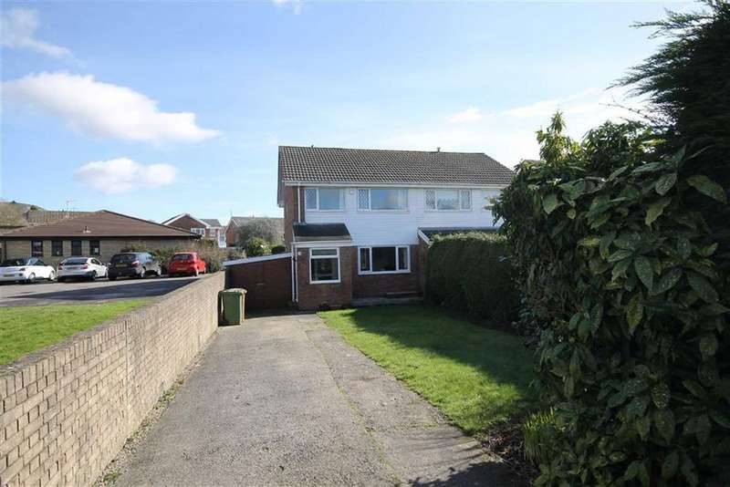 3 Bedrooms Semi Detached House for sale in Greenacre Drive, Bedwas, CF83