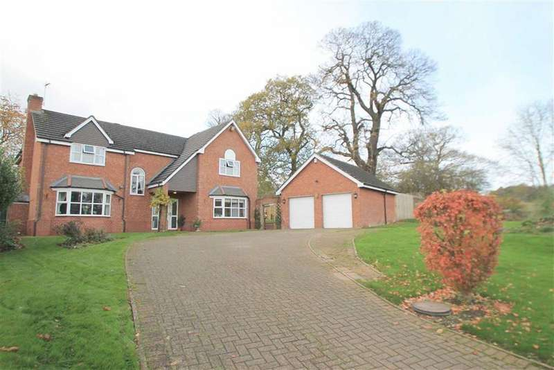 4 Bedrooms Detached House for sale in Chestnut Court, Summerhill, Wrexham
