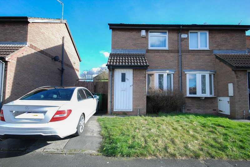 2 Bedrooms Semi Detached House for sale in Tyne View Place, Gateshead