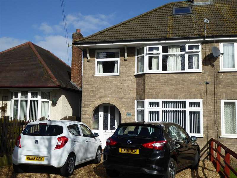 3 Bedrooms Semi Detached House for sale in Rothwell Road, Kettering