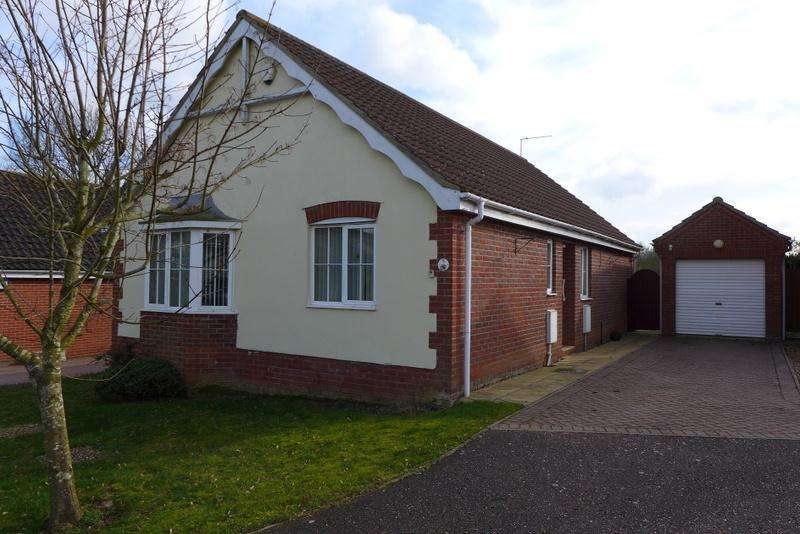 3 Bedrooms Detached Bungalow for sale in 5 John Lawrence Close, Beccles