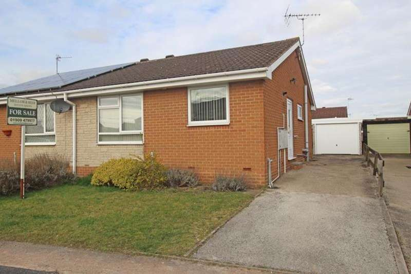 2 Bedrooms Semi Detached Bungalow for sale in 50 Wensleydale, Worksop