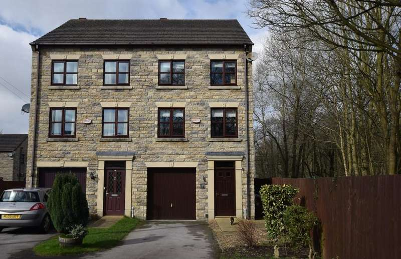3 Bedrooms Semi Detached House for sale in Shallcross Mill Road, Whaley Bridge, High Peak