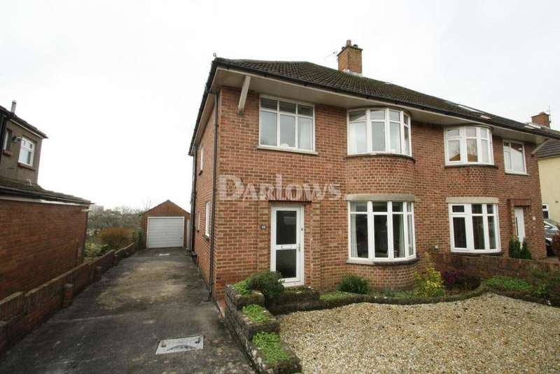 3 Bedrooms Semi Detached House for sale in Everest Avenue, Llanishen, Cardiff
