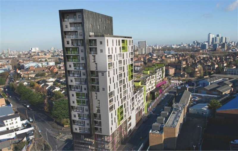 2 Bedrooms Property for sale in The Tower Apartments, Bermondsey, SE16
