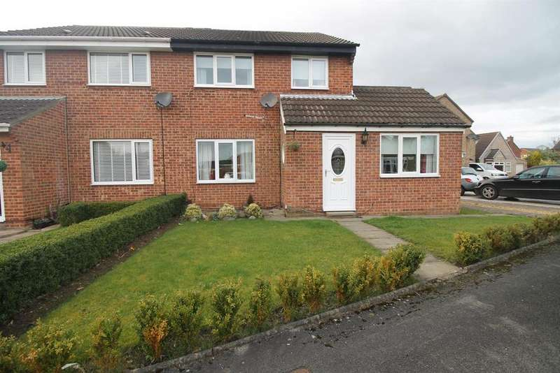 3 Bedrooms Semi Detached House for sale in Biretta Close, Stockton-On-Tees