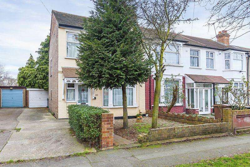 3 Bedrooms End Of Terrace House for sale in Middleton Avenue, London, Greater London. E4 8EG