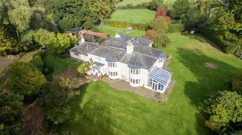 5 Bedrooms Detached House for sale in Slab Lane, West Wellow, Hampshire, SO51