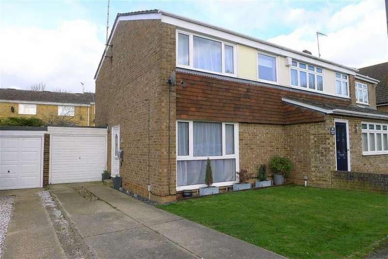 3 Bedrooms Semi Detached House for sale in Silverspot Close, Rainham, Kent, ME8