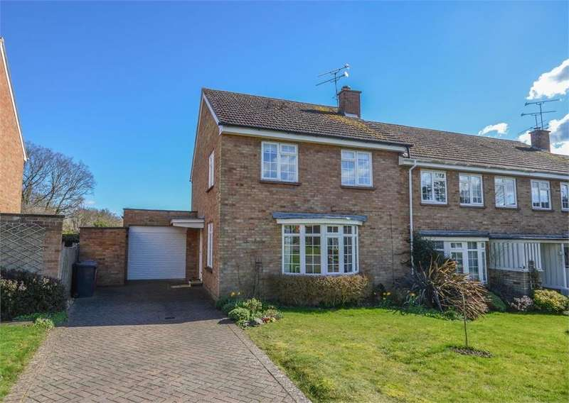 3 Bedrooms End Of Terrace House for sale in Dane Acres, BISHOP'S STORTFORD, Hertfordshire