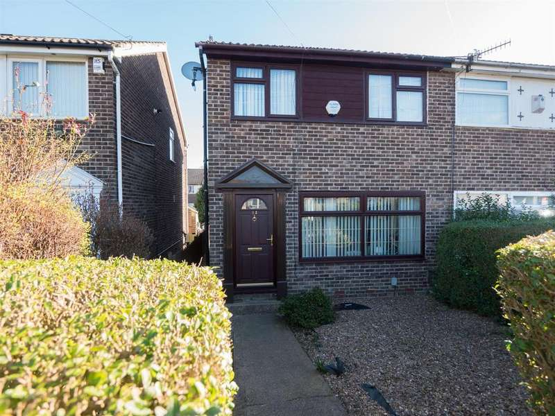 3 Bedrooms End Of Terrace House for sale in Harrogate Avenue, Bradford, BD3 0LH