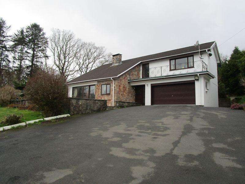 3 Bedrooms Detached House for sale in Bryncoed House, Crynant, Neath.